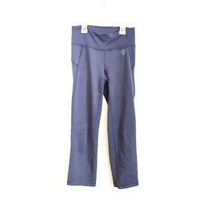 Live Love Dream Athletic Dark Gray Cropped Pants